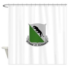69th Armor Regiment.png Shower Curtain