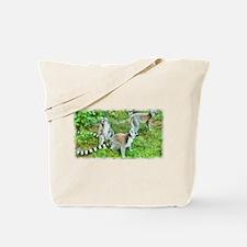 Ring-tailed Lemurs Group Tote Bag