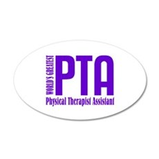 Physical Therapist Assistant Wall Decal
