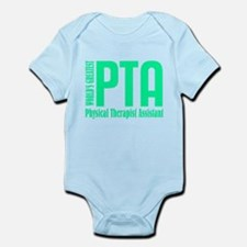 Physical Therapist Assistant Infant Bodysuit