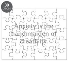 Anxiety is the hand maiden of creativity Puzzle