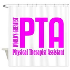 Physical Therapist Assistant Shower Curtain