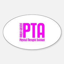 Physical Therapist Assistant Decal