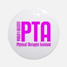 Physical Therapist Assistant Ornament (Round)