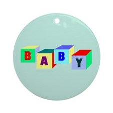 Baby Ornament (balloon weights)