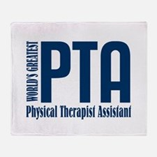 Physical Therapist Assistant Throw Blanket