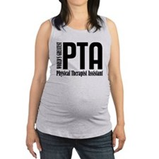 Physical Therapist Assistant Maternity Tank Top