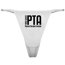 Physical Therapist Assistant Classic Thong