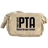 Physical therapy assistant Messenger Bag
