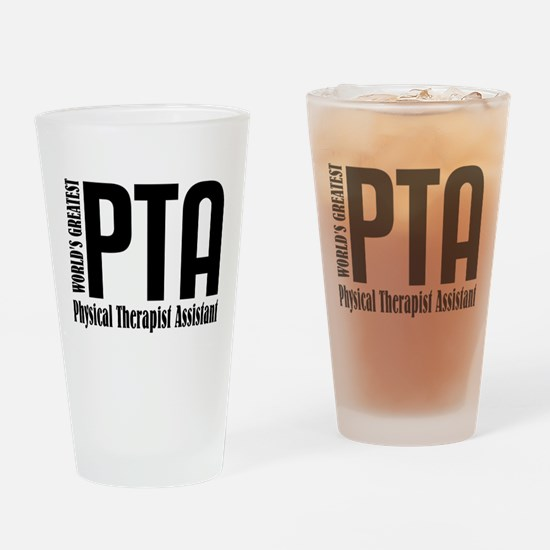 Physical Therapist Assistant Drinking Glass