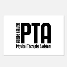 Physical Therapist Assist Postcards (Package of 8)