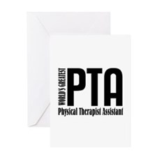 Physical Therapist Assistant Greeting Card