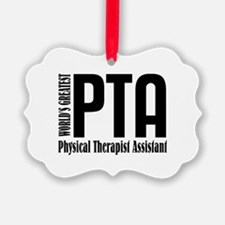 Physical Therapist Assistant Ornament