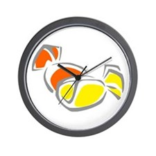 hard wrapped Candies Wall Clock