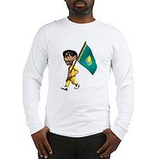 3D Kazakhstan Long Sleeve T-Shirt