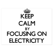 Keep Calm by focusing on Electricity Invitations