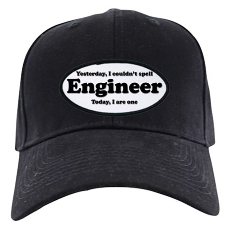 Can't spell Engineer Black Cap