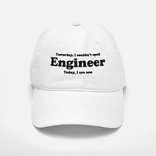 Can't spell Engineer Baseball Baseball Cap