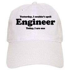 Can't spell Engineer Baseball Cap