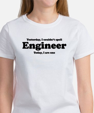Can't spell Engineer Women's T-Shirt