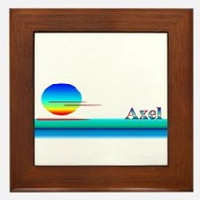 Axel Framed Tile