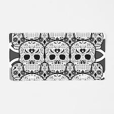 Sugar Skulls Aluminum License Plate