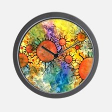 Primordial Suns 2 Wall Clock