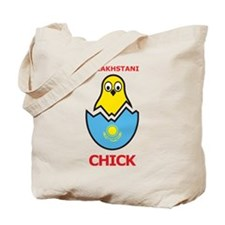 Kazakhstani Chick Tote Bag