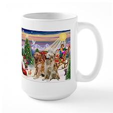 Santa's Treats for his Two Goldens Mug