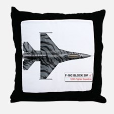 120_fs_f-16_fighting_falcon.png Throw Pillow