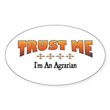 Trust Agrarian Oval Decal