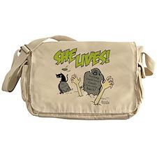 Funny Diy Messenger Bag