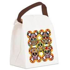Sugar Skulls Canvas Lunch Bag