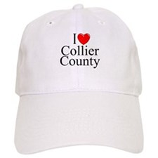 """I Love Collier County"" Baseball Cap"