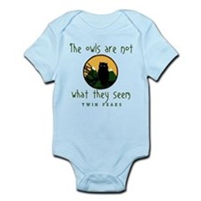 TWIN PEAKS The Owls Are Not Infant Bodysuit