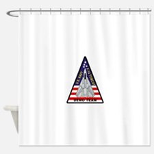 vf101DemoTeam.png Shower Curtain