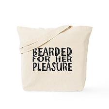 bearded Tote Bag