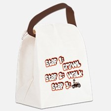 steps Canvas Lunch Bag