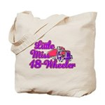 little miss 18 wheeler.png Tote Bag