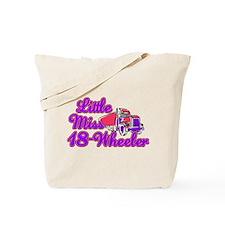 little miss 18 wheeler.png Tote Bag
