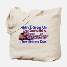 When I Grow Up Trucker Tote Bag