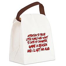 Get an Alibi Canvas Lunch Bag