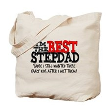 Best Stepdad Tote Bag