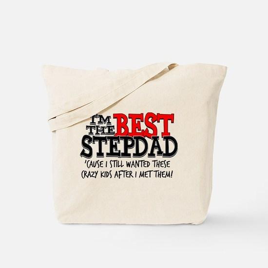 Best Stepdad Tote Bag