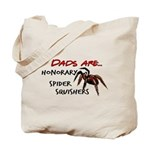 Spider Squishers Tote Bag