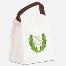Extend an Olive Branch Canvas Lunch Bag