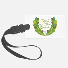 Extend an Olive Branch Luggage Tag