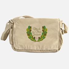 Extend an Olive Branch Messenger Bag
