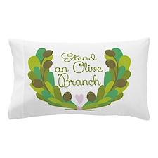 Extend an Olive Branch Pillow Case