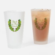 Extend an Olive Branch Drinking Glass